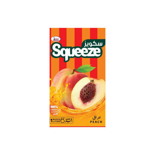 Picture of Squeeze Peach Juice 25 g